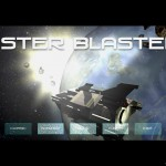 Aster Blaster title screen