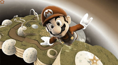 Super Mario Galaxy as rendered by Unreal Engine 3