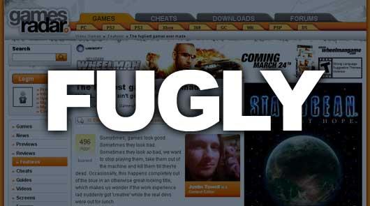 GamesRadar is kind of Fugly
