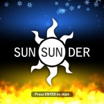 Sun Sun Der title screen