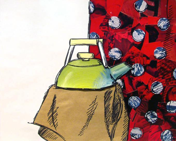 Teapot Collage