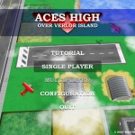 Aces High Over Verlor Island (Menu)