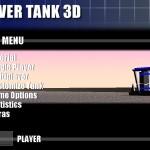Hover Tank 3D (Main Menu)