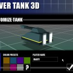 Hover Tank 3D (Customize Tank)