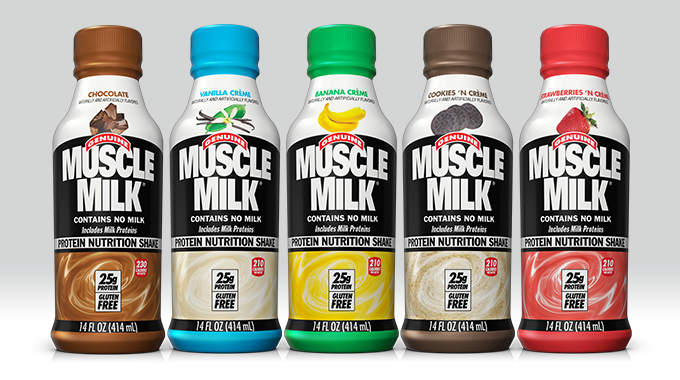 Muscle Milk 14oz lineup