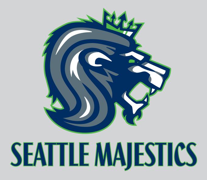 Seattle Majestics Logo
