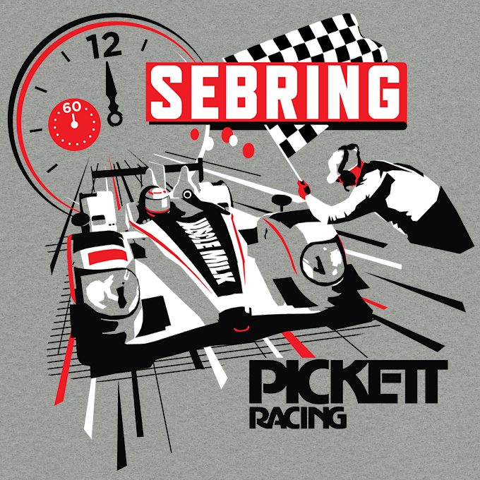 Racing T Shirt Design Ideas t shirt photo Pickett Racing Sebring T Shirt Graphic Martin Crownover