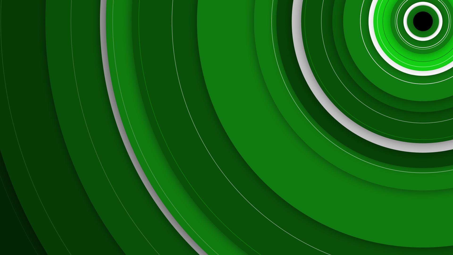 X1bg Circles Green Martin Crownover