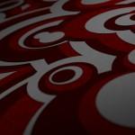 x1bg-3d-circles-dof-red-glitter
