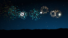 Particles: Fireworks