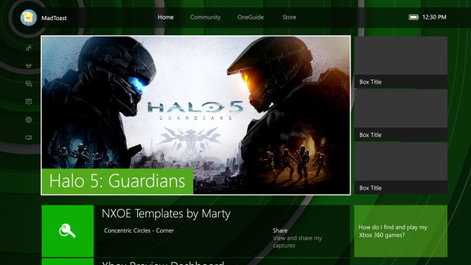 New Xbox Themes for NXOE | Martin Crownover